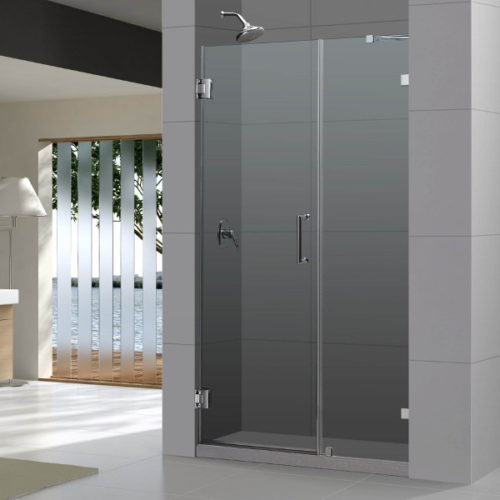 "TT BROOKLYN 48"" FRAMELESS SHOWER DOOR DS-EF13-1219"