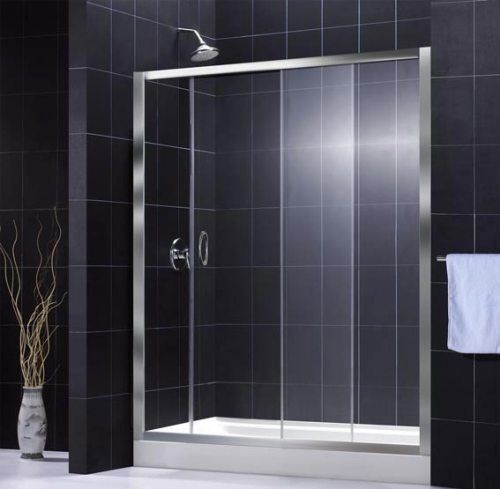 "TT MAINE 48"" SLIDING SHOWER DOOR DS-EF10-1219"