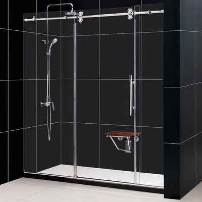 "TT MANHATTAN 72"" FULLY FRAMELESS SHOWER DOOR DS-EF12-3-1828"